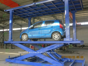 CE Approved Garage Parking Scissor Auto Lift pictures & photos