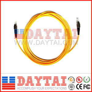 Sm FC/Upc-FC/Upc Fiber Optic Patch Cord (SM FC/UPC-FC/UPC) pictures & photos