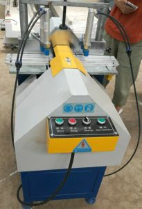 Horizontal Glazing Bead Saw for PVC Profile pictures & photos