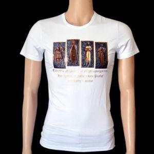 Men New Fashion Clothes Live Engraving Printing T-Shirt (HMT8001)