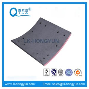 Wva 19037 High Quality Non-Asbestos Truck Brake Lining pictures & photos