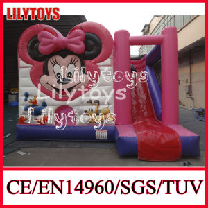 Hot Sale Inflatable Bouncy Castle/ Inflatable Bouncer Slide Combo (J-BC-004) pictures & photos