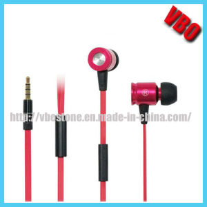 High End Metal Earphone, Mobile Phone Earbuds (10A74) pictures & photos