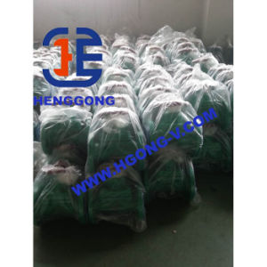 DIN/BS Wire Type Cast Steel Flange Diaphragm Valve