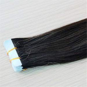 Factory Price Skin Weft Hair Tape Prebonded Human Hair Extension pictures & photos
