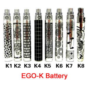 Cool Laser Engraving EGO-K/Q Battery of Electronic Cigarette, Batteries
