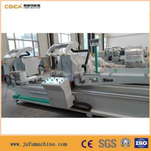 Aluminum PVC Window Profile CNC Double Head Cut Saw pictures & photos