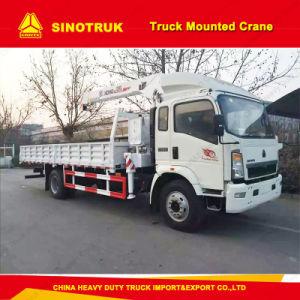 Sinotruk HOWO 8 Ton/10 Ton/ 12 Ton Truck Mounted Crane pictures & photos