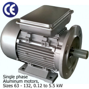 1/5~7.5HP 115/230V Single Phase Electrical Motor pictures & photos