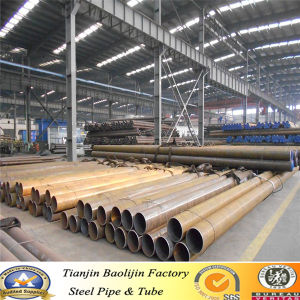 Clearance Sale! ! ! Welded Carbon Black Round Steel Tube pictures & photos