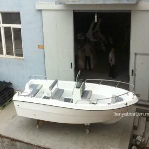 Liya 5m Fishing Boat Fiberglass Panga Boat for Sale pictures & photos