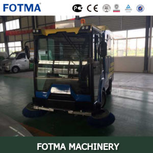 4 Wheel Diesel Multi Function Outdoor Sweeper pictures & photos