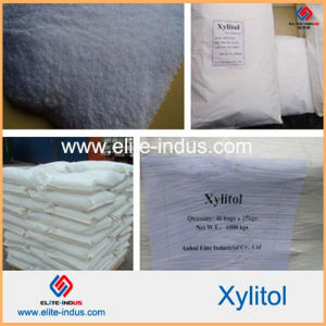 Food Sweetener Organic Xylitol of Gmo Free Xylitol (CAS: 87-99-0) pictures & photos