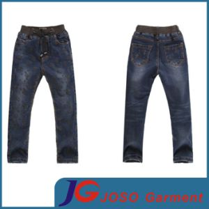 Special Colour Spray Kids Jeans Garment (JC8035) pictures & photos