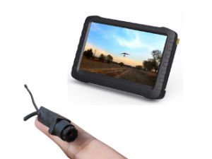 5.8g Wireless Mini Fpv Camera with 5 Inch Fpv Monitor DVR (Long distance transmit, good audio and video) pictures & photos