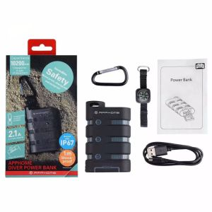 10200mAh Portable Power Bank by Apphome for Camping Hiking pictures & photos