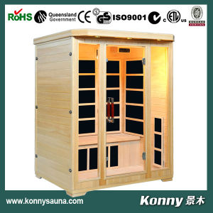 2014 Kl-3sfv (3 person) Luxury CE Certification Indoor Far Infrared Carbon Heater Sauna Room
