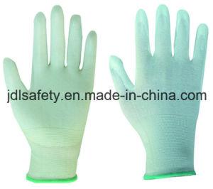 18 Gauge Anti-Cut Work Glove with PU (K8082-18) pictures & photos