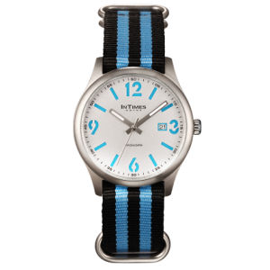 Blue Nylon Band Sport Watch Intimes Branded Watch (IT-1066)