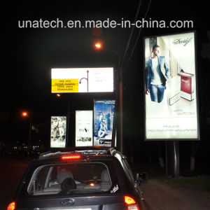 Publicititary Street Structure Poster Backlit Banner Film Advertising Scrolling LED Media Signage pictures & photos