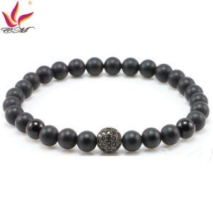 SMB006 Popular Black Mat Onyx Bracelet pictures & photos