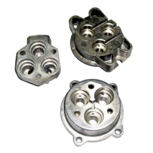 Aluminum Die Casting Shell for Motor Use with CNC Machining pictures & photos