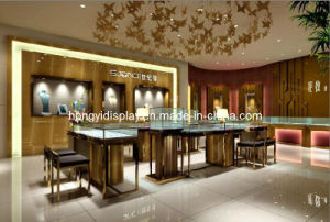 Jewelry Showcase, Jewelry Display Kiosk, Glass Cabinet pictures & photos