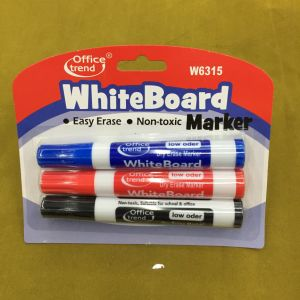 Whiteboard Marker Pen with Brush 2+1, Dry Eraser Marker Pen Set W6312 pictures & photos