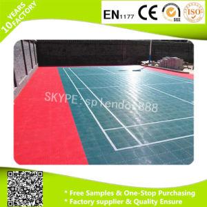 PP Tile Outdoor PVC Flooring Interlock pictures & photos