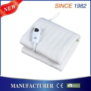 Binding Double Electric Heated Underblanket with Over Heating Protection pictures & photos