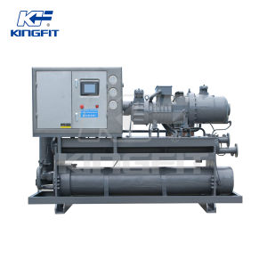 Economic Water Cooled Type Screw Style Chiller pictures & photos
