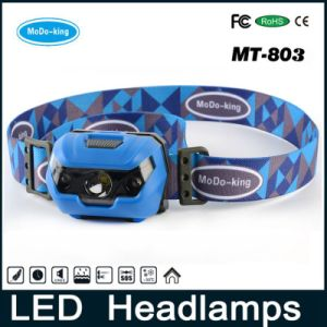 Ultra Bright LED Headlamp Fishing Lights & Dimmable White Light