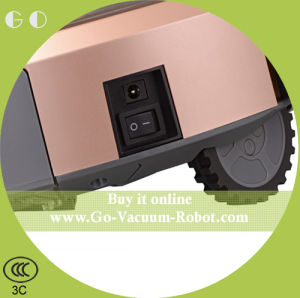 Automatic Charging Strong Suction Home Robot Vacuum Cleaner pictures & photos