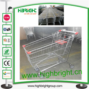 Hot Sale Shopping Cart with Coin Lock pictures & photos