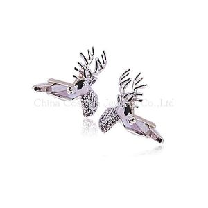 Animals Deer Shape Silver Cufflinks for Men to Marry pictures & photos