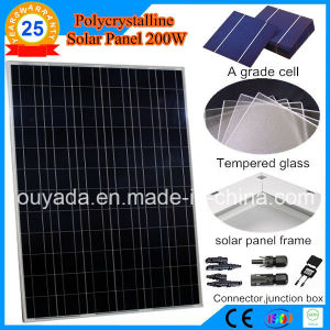 200W Polycrystalline PV Solar Panel pictures & photos