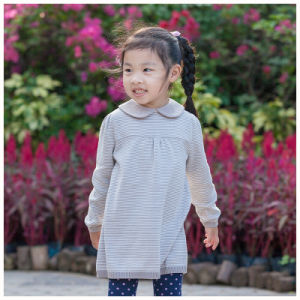 Phoebee Knitted Children Apparel Spring/Autumn Girl Dress pictures & photos
