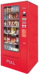 Snack/Candy Combo Vending Machine Without Cooling System LV-205A pictures & photos