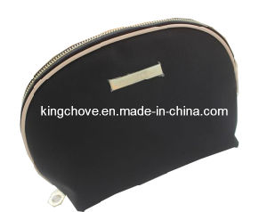 Black Nylon with Beige PU Cosmetic Bag (KCC56) pictures & photos