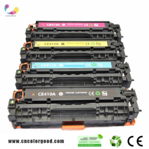 2015 Top China Best Toners Price for HP CE410A 411A 412A 413A Color Toner Cartridge for HP Laserjet 400 pictures & photos