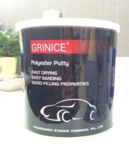 Drying and Sanding Fast 2k Automotive Putty pictures & photos
