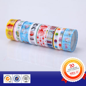 OPP Stationery Tape Cartoon Print in Various Styles pictures & photos