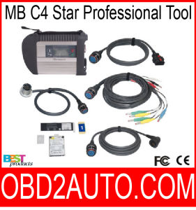 MB C4 SD Connect Compact 4 2015.08 Star Diagnosis with WiFi for Cars and Trucks Multi-Langauge