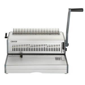 Large Format A3 Comb Binding Machine for Paper Comb Punching/Binding (CB430) pictures & photos