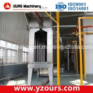 Complete Powder Coating Line with Tunnel Pretreatment Process pictures & photos