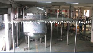 Sanitary Liquid Detergent Storage Tanks with Operation Platform pictures & photos