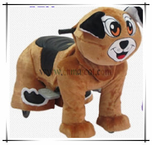 Cute Dog Electric Ride on Animal Children Toy Factory Price