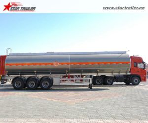 Water/ Milk Transportation Stainless Steel Tank Trailers pictures & photos