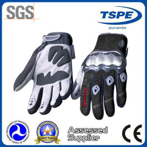 Non-Slip Waterproof Microfiber Full Finger Motorcycle Gloves (MTV-03)