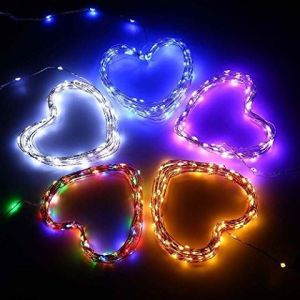 10m 100LED Warm White Waterproof Solar Panel LED String Lights LED Christmas Light pictures & photos